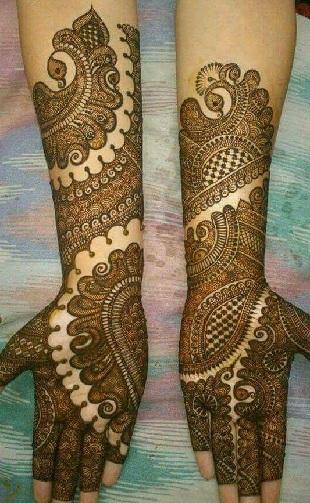 New Mehndi Design For Bridal