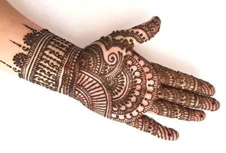 Latest Mehndi Designs For Wedding