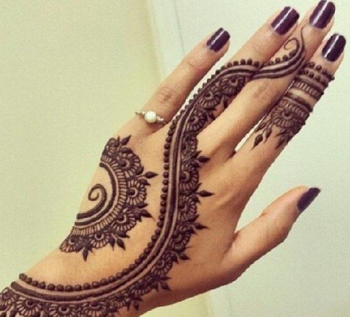 Hand Mehandi Designs