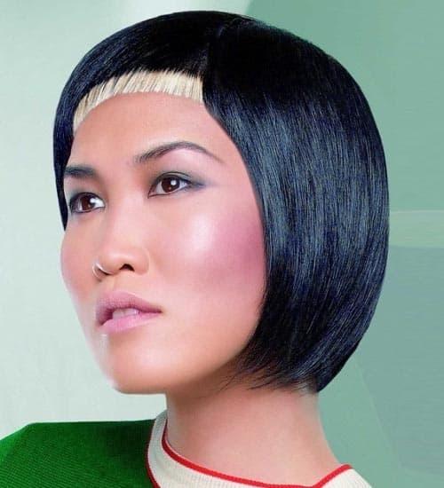 Japanese Bob Haircut
