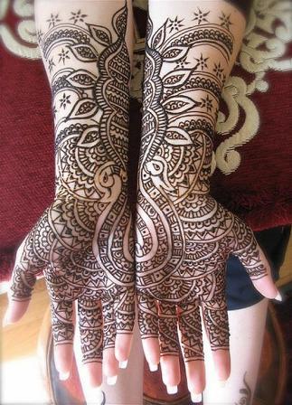 Marwari Hand Mehndi Design