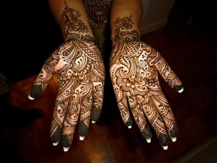 Hand Mehndi Designs for Girls
