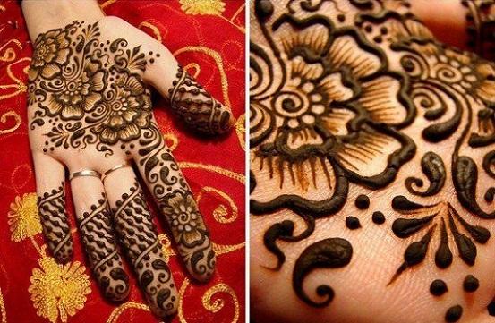 Mughlai Mehndi Design for Hand