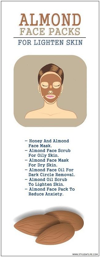 6 Homemade Almond Face Packs For Your Skin