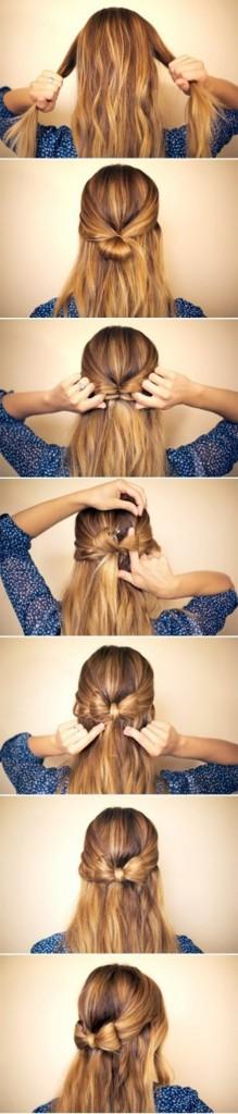 The Half up Half Down Hair Bow