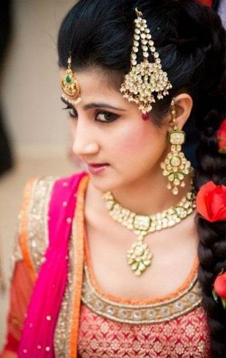 South Indian Braids
