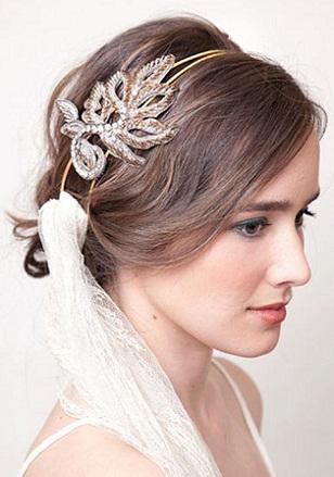 Simple Bridal Hairstyle