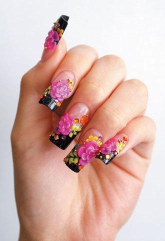 acrylic nail art designs6