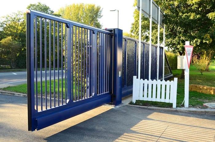 Sliding School Gate