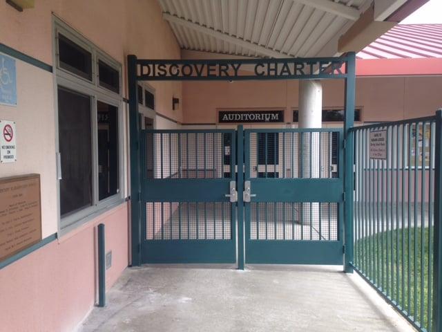 Custom School Gate