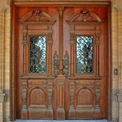 Wooden door designs 5
