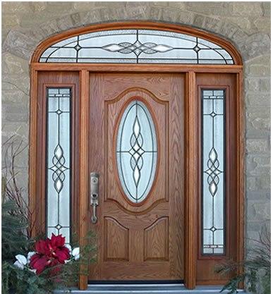 Wooden door designs 6