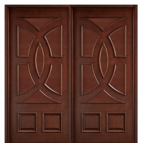 Wooden door designs 7