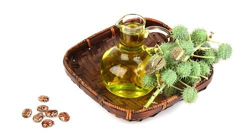 Castor oil for angular cheilitis