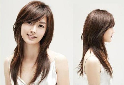 Asian Girl Modern Hairstyles