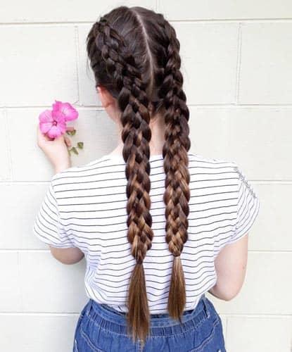 Long Braids Style