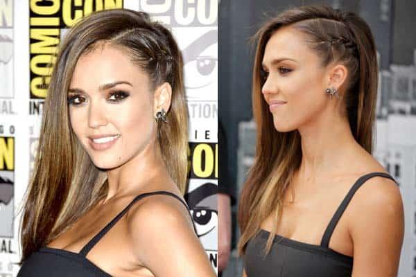 Side Hair Braid Hair Style