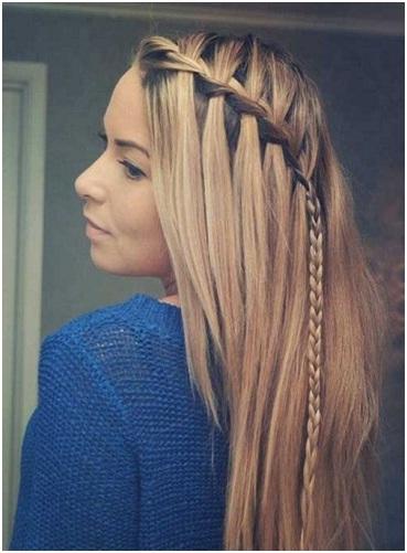 Waterfall Braids New Hairstyles