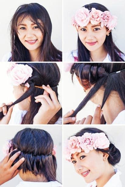 Festive Medium Length Hairstyles for Women