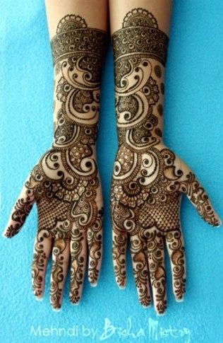 Bisha Mistry's mehndi designs9