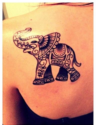 Ganesha Design For Back