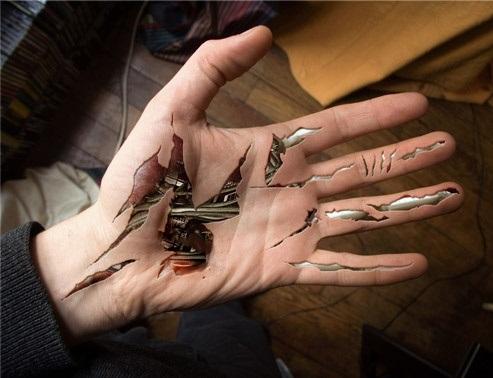 Stunning Biomechanical Tattoo Design