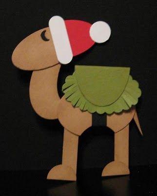 Kids Paper Camel Crafts