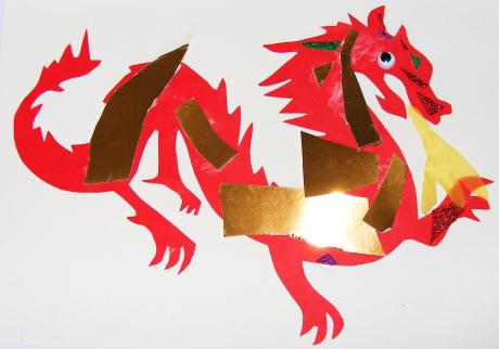 Dragon Collage