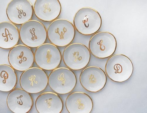 Ring Dish Plaster of Paris Crafts
