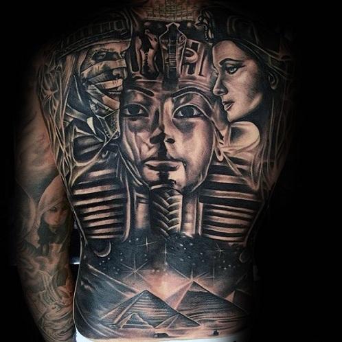Incredible Mummy Tattoo Design