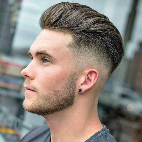 Modern Slick Back Hair