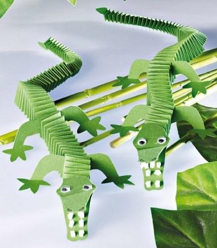 Folded Crocodile