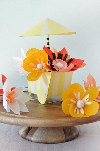 DIY Party Flower Crafts