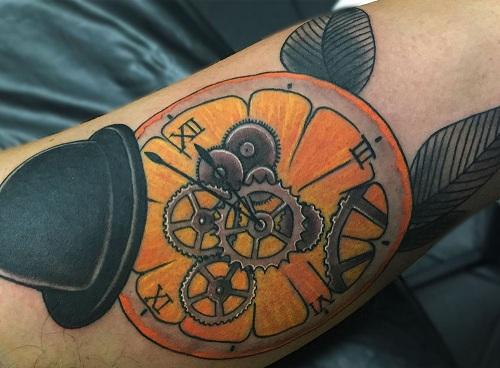 Clockwork Orange Tattoo Design