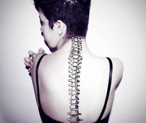 Tribal Spinal Tattoo