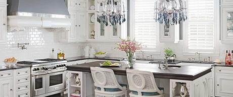 Snow White luxury kitchen