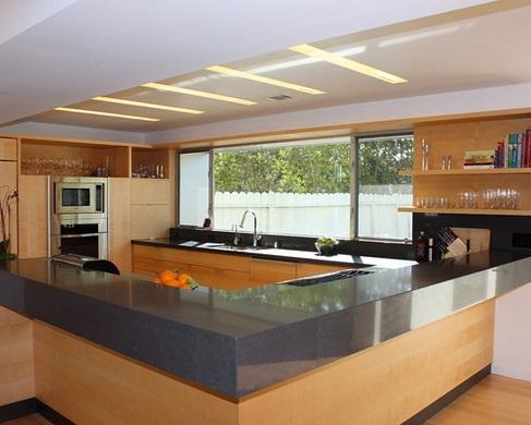 U-Shape luxury kitchen