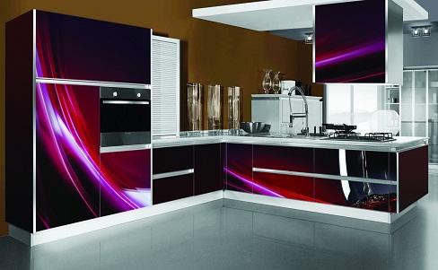 3D luxury kitchen