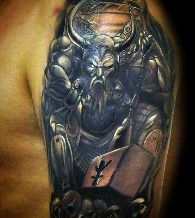 Scary Viking Tattoos