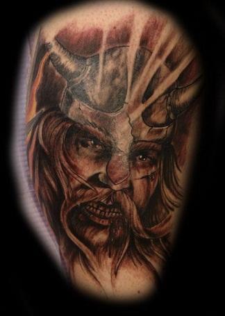 Graphic Viking Tattoos