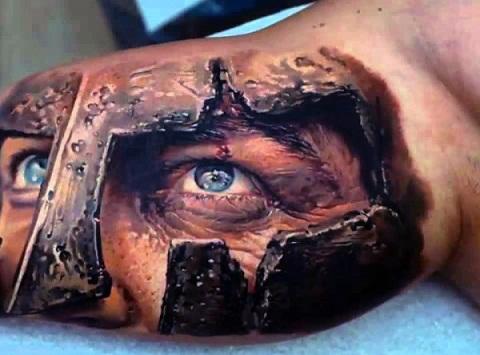 Realistic Viking Tattoos