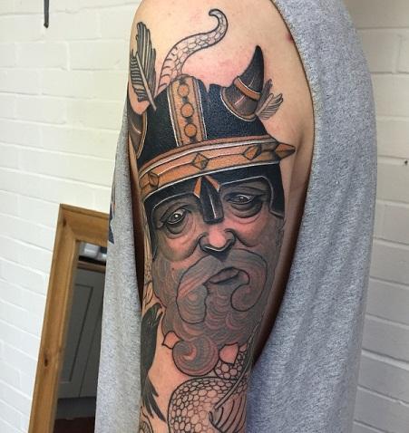 Funny Viking Tattoos