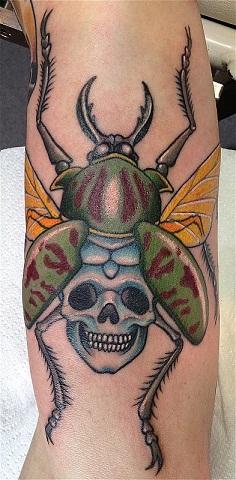 beetle tattoo