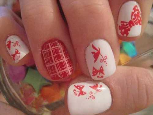 butterfly nail art8