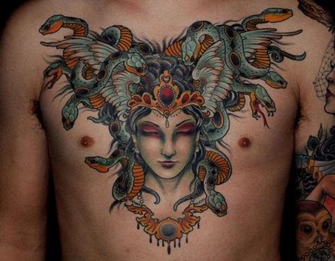 Powerful Medusa Tattoo Designs