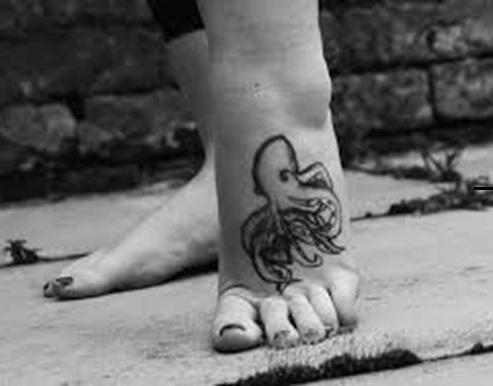 Simple Octopus Tattoo Design