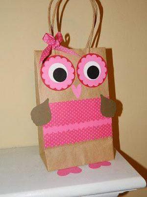 Beaver Paper Bag