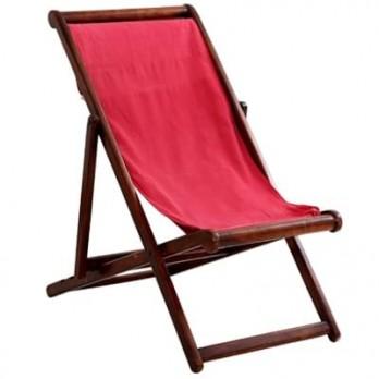 Wood Single Seated Balcony Chair