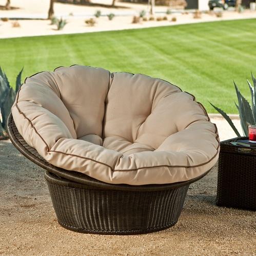 Comfortable cushion balcony chairs