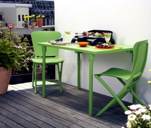 Compact Dual Balcony Chair